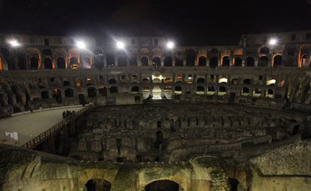 Tours por Roma - El Coliseo bajo la luna
