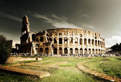 Visitas al Coliseo - Vista desde el anillo superior