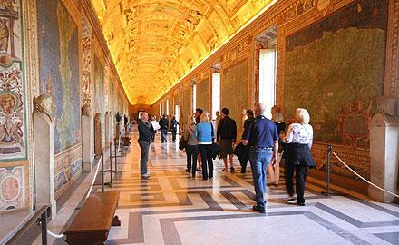 Visita oficial al Vaticano - la Capilla Sixtina por la mañana