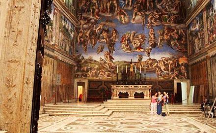 Visitas al Vaticano - After Hour en la Capilla Sixtina con IWU